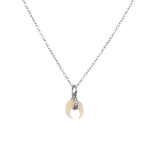 Zirconia nacar moon silver