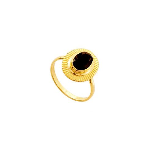Black spinel gold