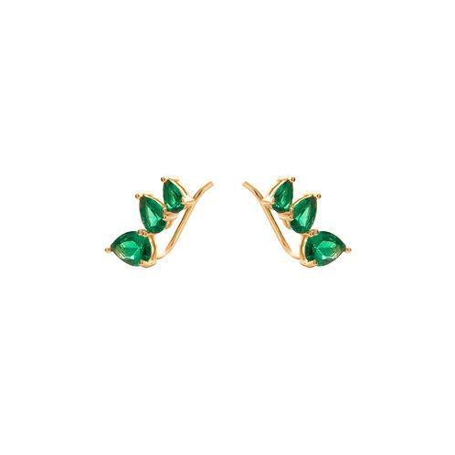 Green zirconia climber gold