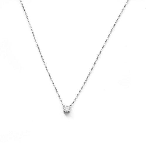 One zirconia silver