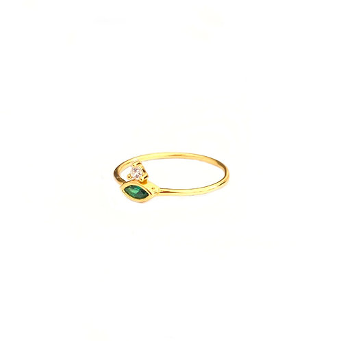 Green zirconia gold