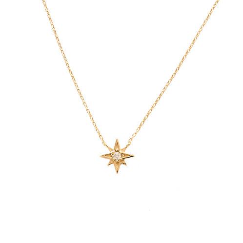Zirconia star gold