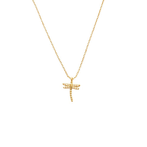 Dragon-fly gold