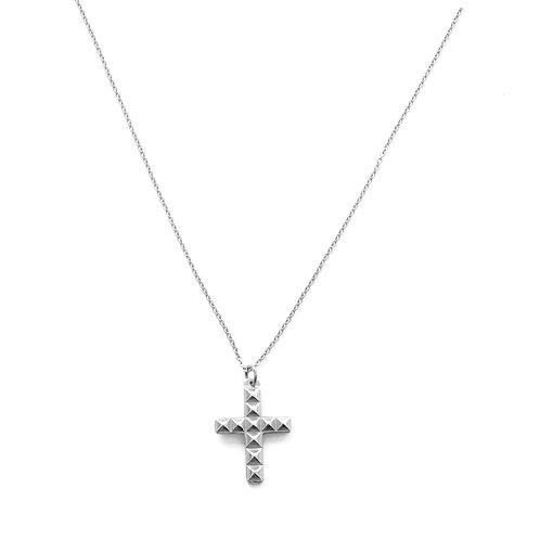 Square Cross silver