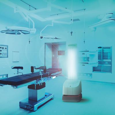 Robot UVD wyznacza nowe standardy automatycznej i bezpiecznej dezynfekcji