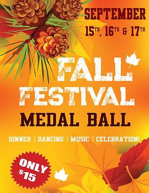 Fall Festival Medal Ball