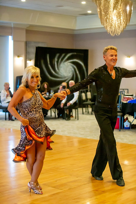 a couple dancing ballroom