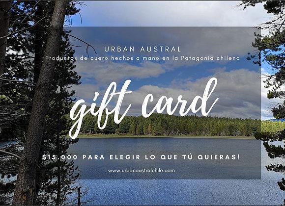 Gift Card! $15.000