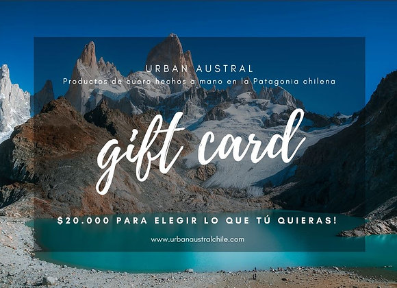 Gift Card! $20.000