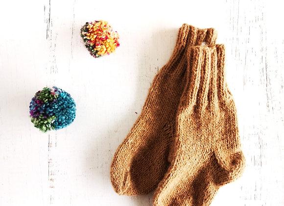 Calcetines de Lana de Alpaca Niños