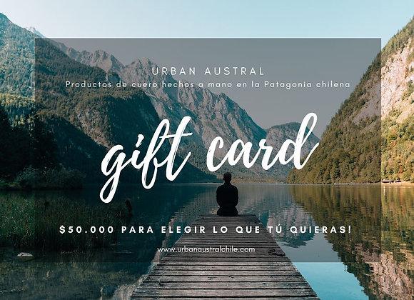 Gift Card! $50.000