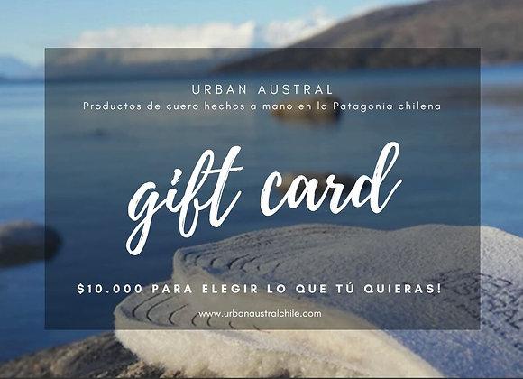 Gift Card! $10.000