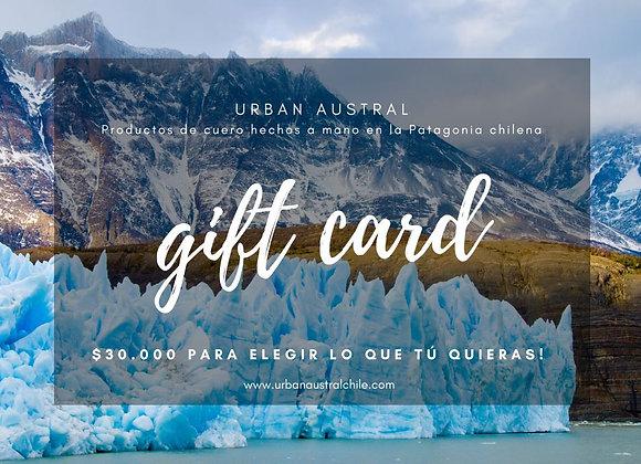 Gift Card! $30.000