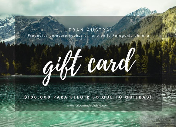 Gift Card! $100.000