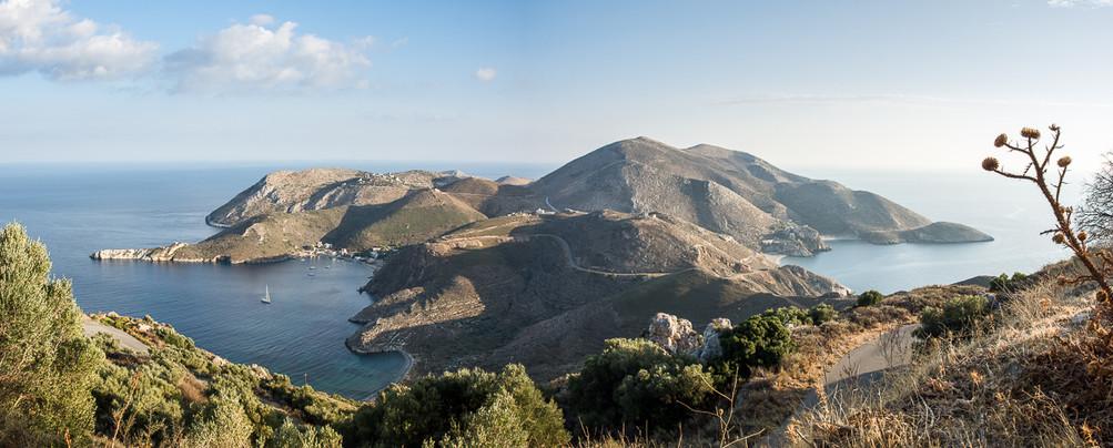South of Greece - left Porto Kagio