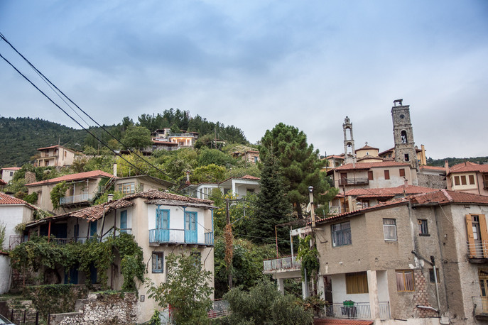 Mountain region around Sparta