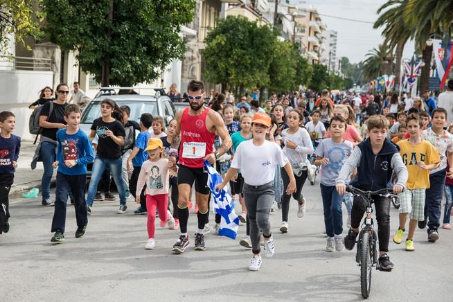 Spartatlon runner