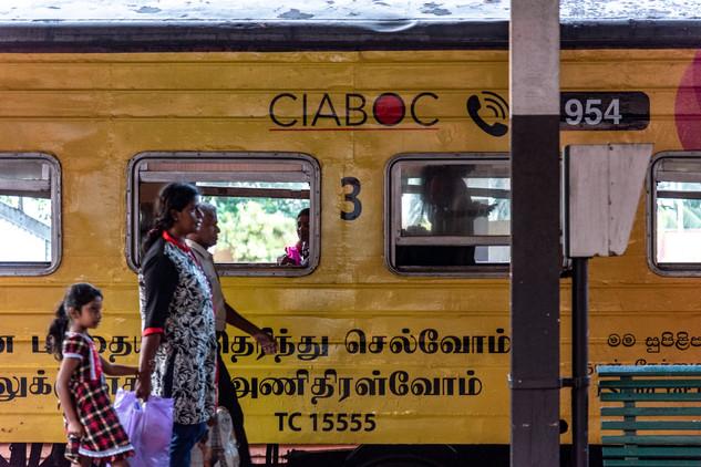 Trainstation Colombo