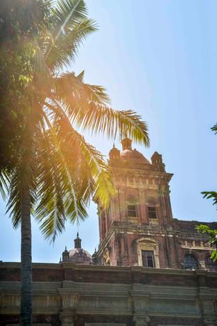 colonial building in Yangon