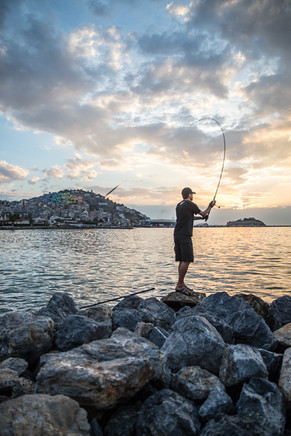 Fisherman in Cuschadasi