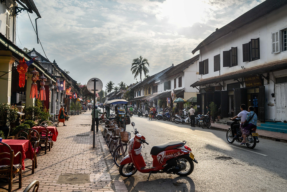 The streets of Luang Prabang - Lao