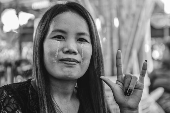 girl from Yangon, Myanmar