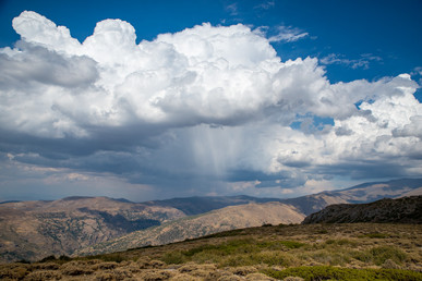 On the way back from Sierra Nevada