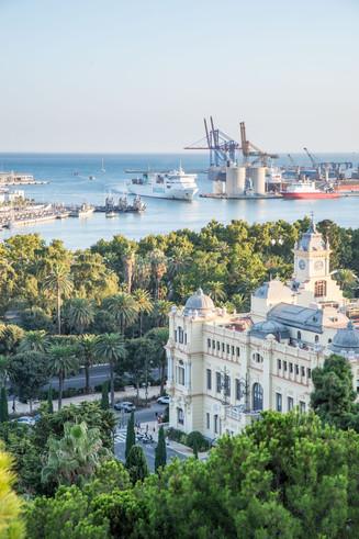 Harbour of Malaga