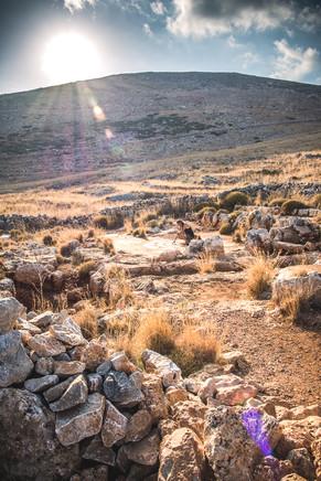 Ρωμαϊκά λουτρά near Cave of Hades