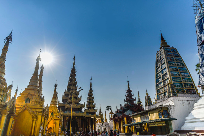 the greatest stupa in Myanmar