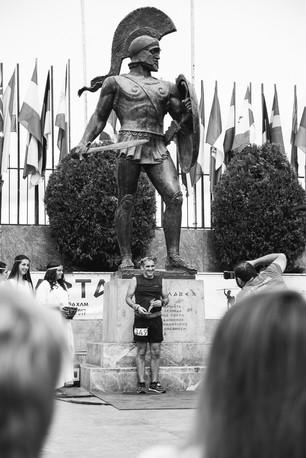 Sparta - Statue of King Leonidas