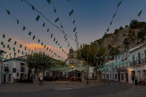 Little village around  Sierra de Grazalema