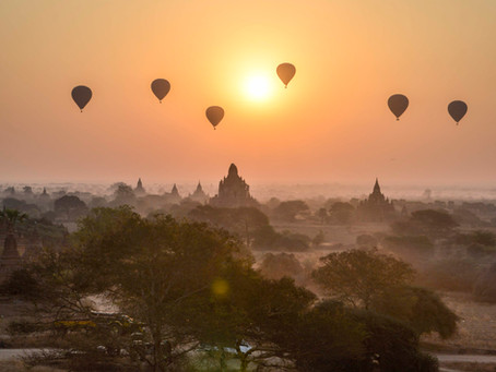 Bagan, Mandalay and a bit south