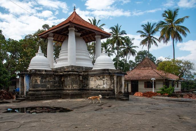 Buddhism and Hinduism Temple around Kandy