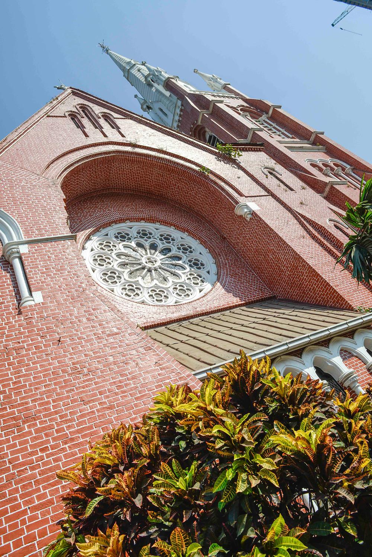 Christliche Kirche in Yangon