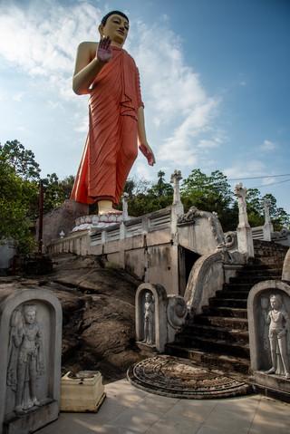 Buddhism Temple around Kandy
