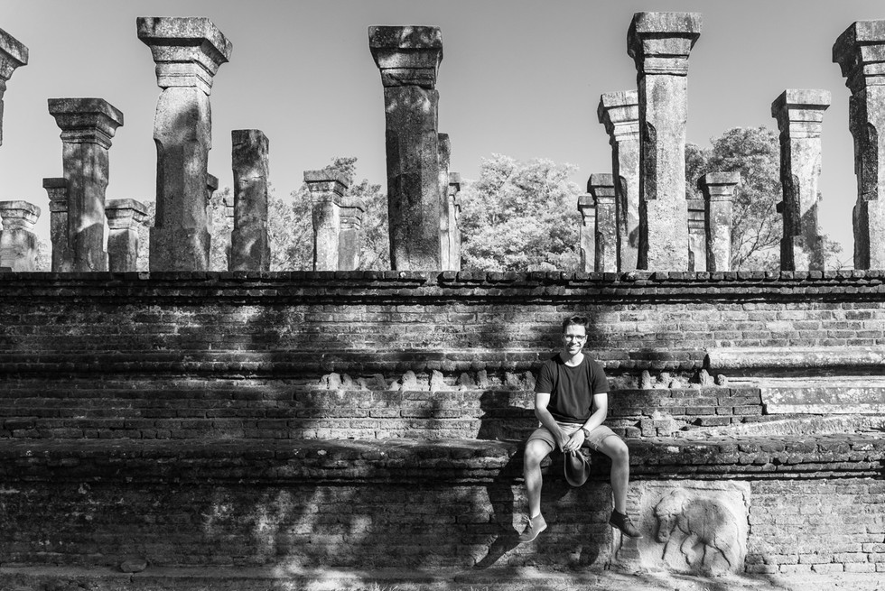 Ancient temple around Sigiriya