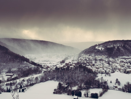 Blaubeuren and the snow
