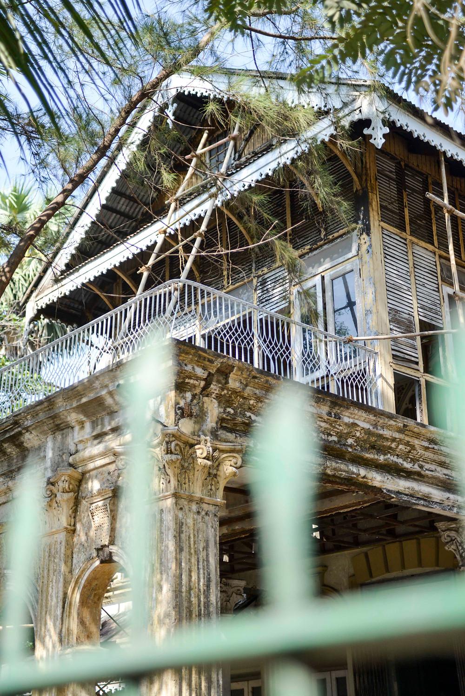 Kolonialbauten in Yangon werden renoviert