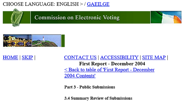 Commission on Electronic Voting livery.P