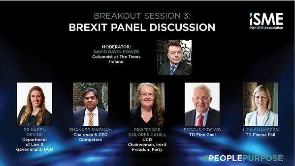 ISME Annual Conference 2019 Brexit Panel