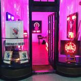 Illuminati illuminating the gallery