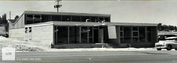 Albuquerque Museum Flatow Office PA.1980