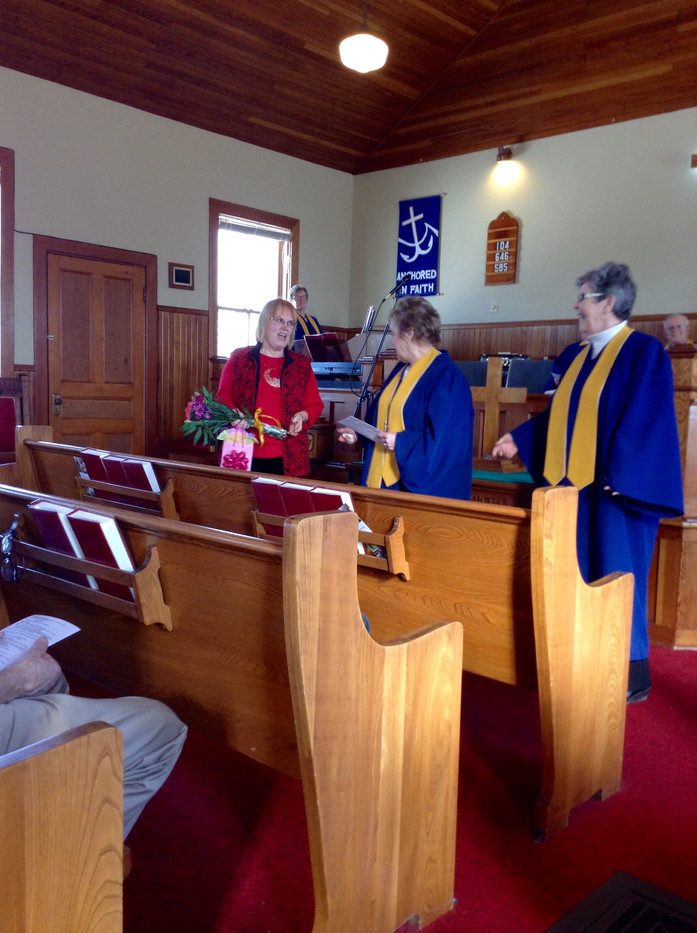 February 2020 - Honouring Jan Betts for 24 Years leading Sunday School