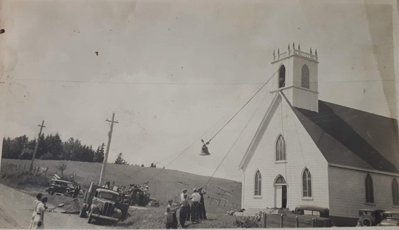 Old Barns Church circa 1930's