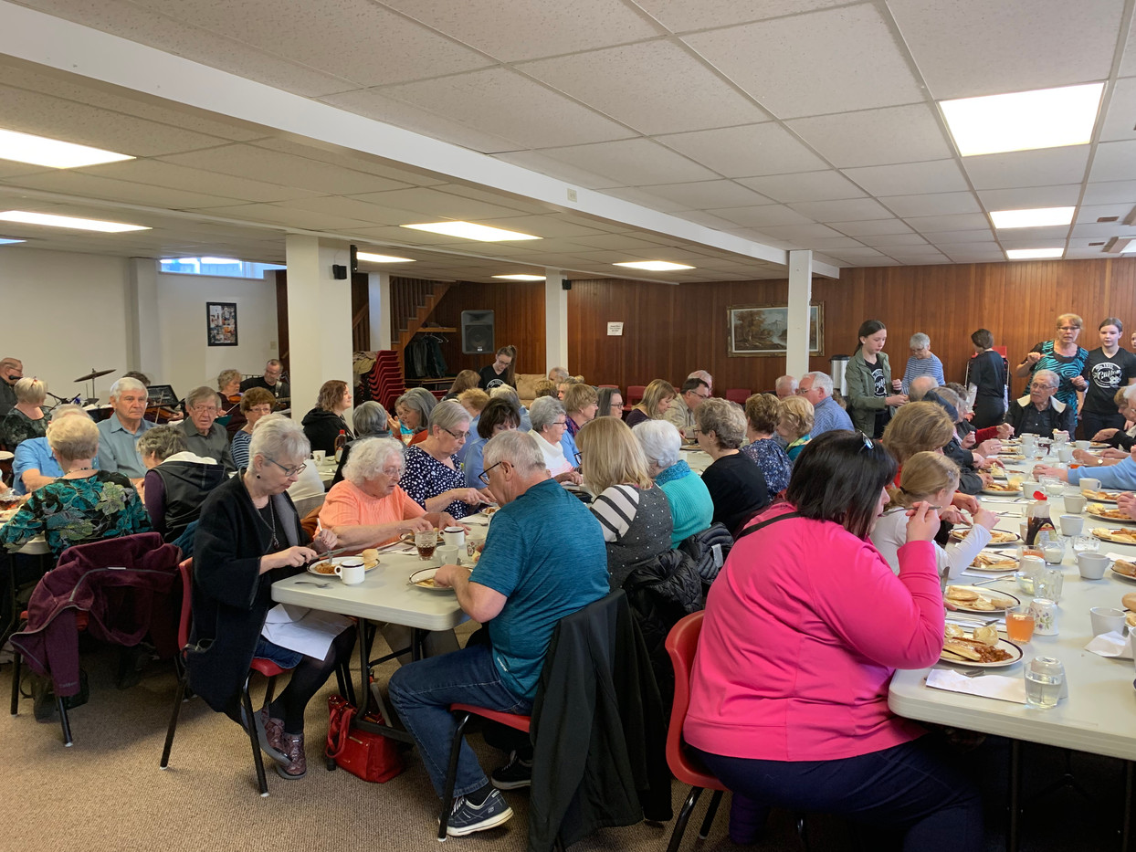 April 2019 Pancake Luncheon