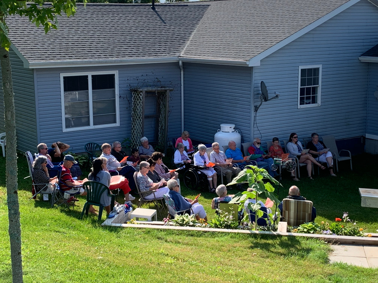 August 2019 Outdoor Worship Service
