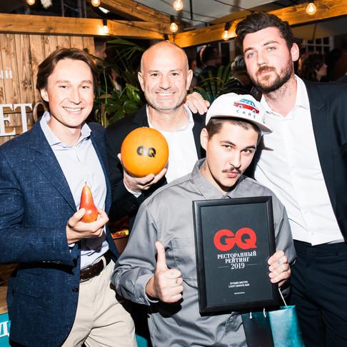 Lucky Izakaya Bar в списке лучших ресторанов 2019, по версии GQ Russia