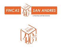 LOGO FINCAS SAN ANDRES 40 ANYS COMPLETO.