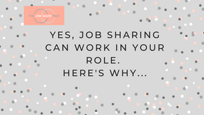 Yes, job sharing CAN work in your role. Here's why...